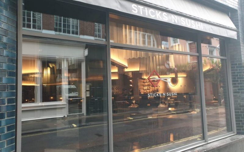 STICKS 'N' SUSHI – Beak Street, London